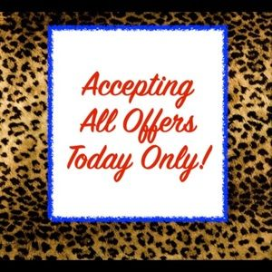 All reasonable offers will be accepted!